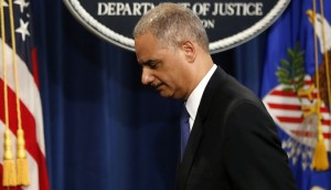 AG Eric Holder may have to help POTUS dig out from under mounting scandals. Credit: theatlantic.com
