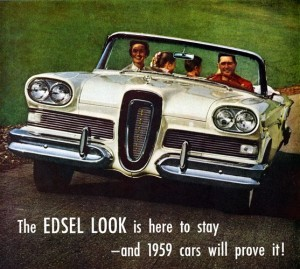 The Ford Edsel didn't last, but the 1965 Medicare benefit remains largely unchanged nearly 50 years later. [Credit: phrenicea.com]