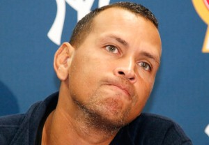 Embattled slugger Alex Rodriguez could end up benefiting from a forthcoming Obamacare announcement.  [Credit: The Nation]