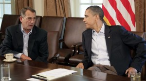 The President and Speaker are headed for another budget confrontation.  [Credit: Fox News]