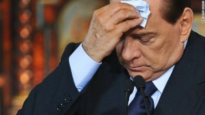 It's been a rough year for Italy's Silvio Berlusconi, who narrowly lost an election and was convicted of a crime that may result in his expulsion from the Senate.  [Credit: Getty images]