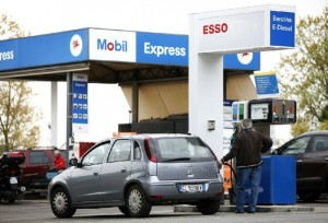 It typically costs $100 to fill a 12-gallon tank in Italy today.  The country imports much of its oil from Russia.  Which is why its government is reluctant to sign on to President Obama's anti-Putin campaign.  [Credit: NWA online]
