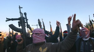 A radical Islamist group called ISIS made major advances this week in Iraq. President Obama is reviewing his options. Is the best bet to let Sunni and Shiite radicals fight it out? [Credit: AP]