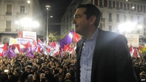 Syriza party leader Alexis  Tsipras hopes to prevail in today's Greek elections, which could mark a turning point in his nation's struggle against a crushing load of debt. Meanwhile, U.S. government deficits are improving. Sort of.