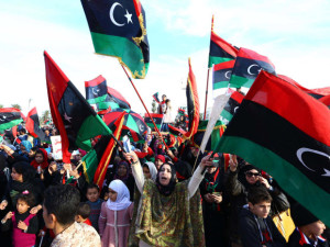 Our drive-by intervention accomplished regime change in Libya, but the country has still not recovered from its liberation. [Credit: National Post]