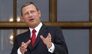 Chief Justice John Roberts ' opinion in King v. Burwell betrayed widely-held misconceptions about health insurance markets.  [Credit: Human Events]