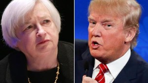Donald Trump this week said that Federal Reserve Board Chairman Janet Yellen won't raise rates because President Obama told her not to. Why he's (sort of) right. [Credit: CNBC]