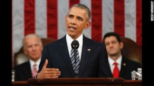 President Obama used his last State of the Union address to decry divisiveness he helped instigate. [Credit: CNN]