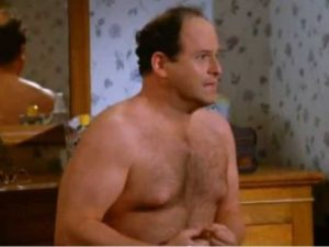 "Seinfeld's George Costanza fretted about ""shrinkage."" But are penis thieves really a bigger problem? [Credit: businessinsider.com]"